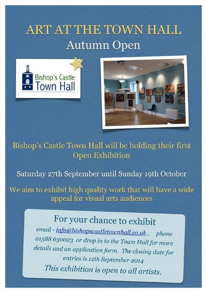 Exhibition at Bishops Castle Town Hall