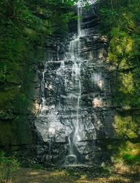 The Falls - visiting the Peak District, commissioned artists for INSIDE, Daniel Regan and Antonia Attwood.