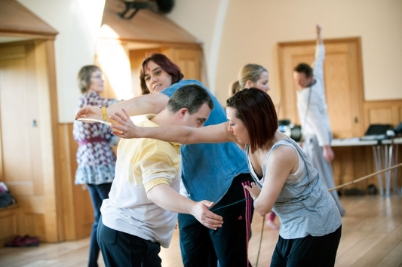 A dance project for people in Shropshire