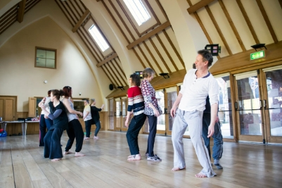Dance project with Dash Disability Arts in Shropshire