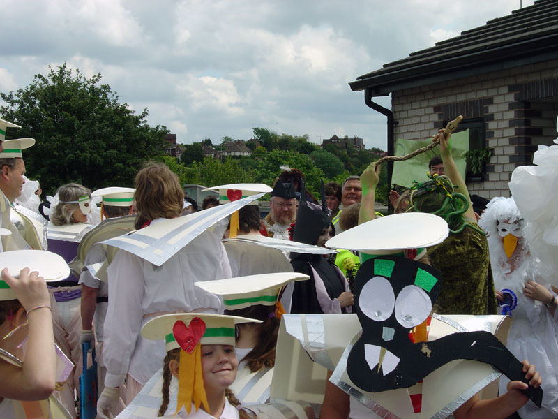 DASH Disability Arts had involvement in the Ludlow Carnival