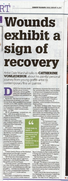 Art exhibition as part of IN, Disability Arts 'in' the Mainstream