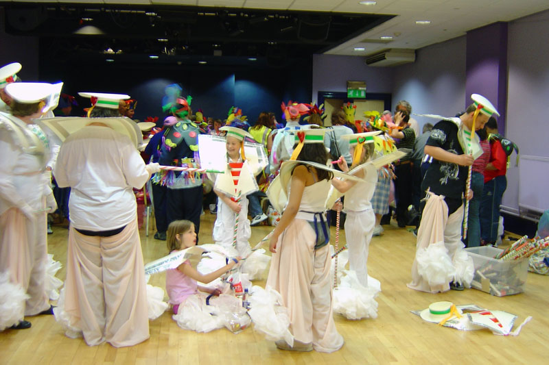 Ludlow Carnival took place each year and DASH Disability Arts participated
