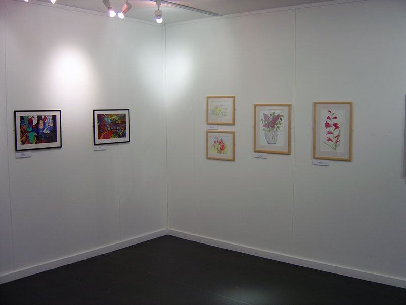 Paintings on display with DASH in Unleashed exhibition
