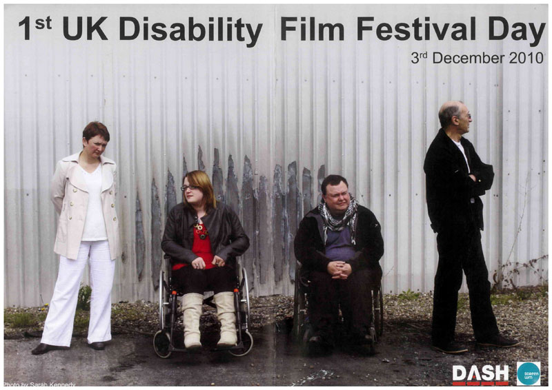 Film festival specialising and focusing on disability arts across the UK