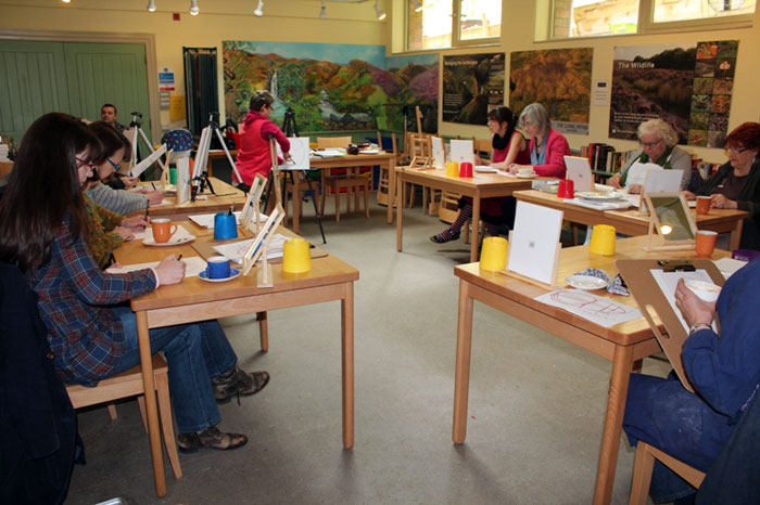 Portrait Painting workshop with Disabled Artist Tanya Raabe