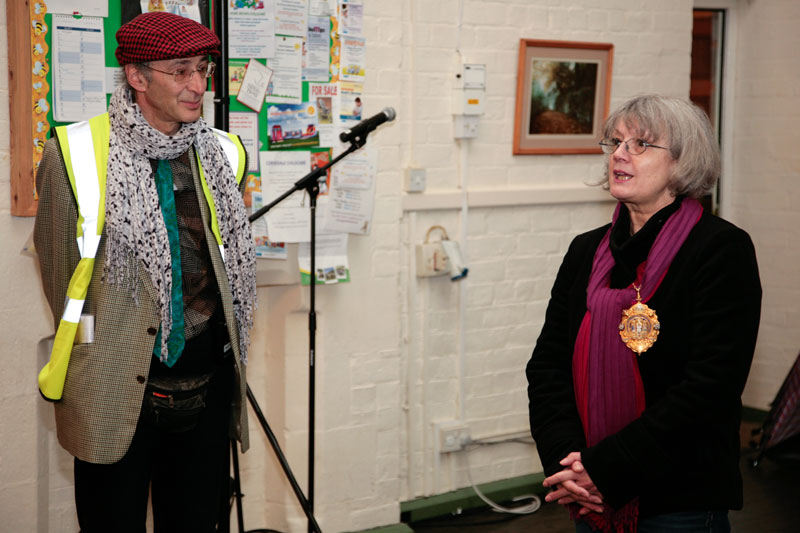The M21 Disability Arts event took place in Much Wenlock