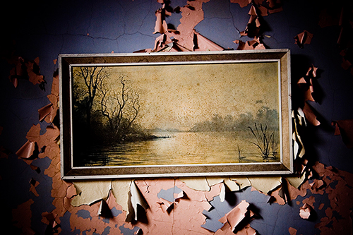 Abandoned, photograph, 2005 - artwork by INSIDE commissioned artist Daniel Regan
